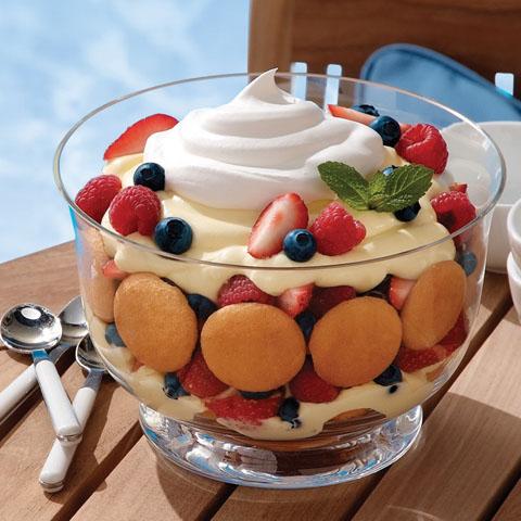Lemon-Berry Trifle Recipe