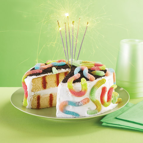 Survivor Birthday Party Poke Cake Recipe