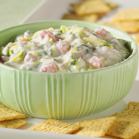 Cheesy Vegetable Dip Recipe