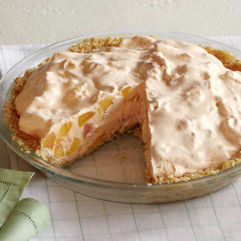 Peaches 'n Creme Pie Recipe