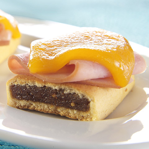 Ham & Cheese-Topped NEWTONS® Recipe