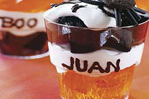 Happy Halloween Dessert Cups Recipe