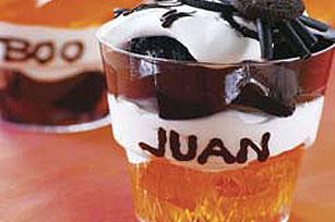 Happy Halloween Dessert Cups Recipe
