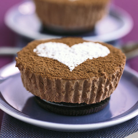 Chocolate Cheesecakes for Two Recipe