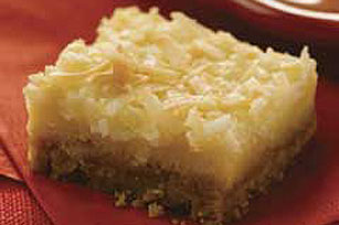 Lemon-Coconut Squares Recipe