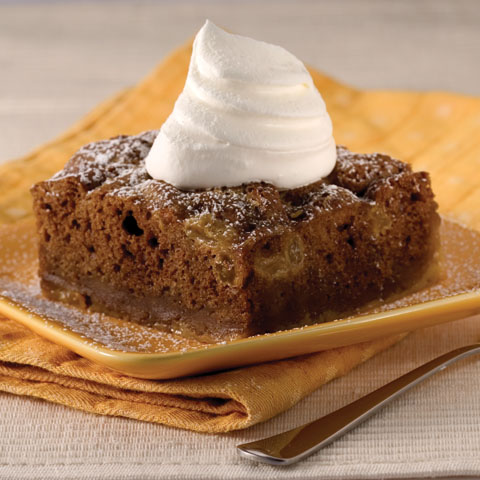 "Ginger Snap ""Bread"" Pudding Recipe"