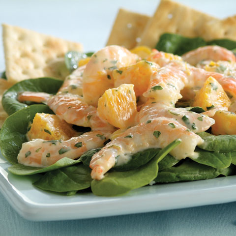 Tropical Shrimp Salad with Lime Dressing Recipe