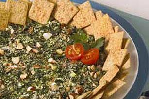 Smokey Almond-Spinach Dip Recipe