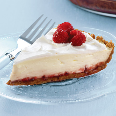 Raspberry-Lemon Pie Recipe