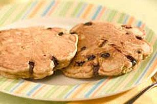 Blueberry Graham Pancakes Recipe