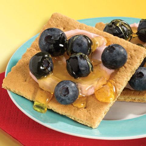 Double-Berry Graham Bites Recipe