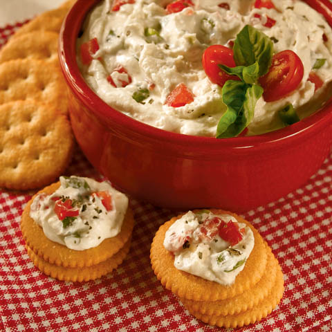 Parmesan-Tomato Spread Recipe
