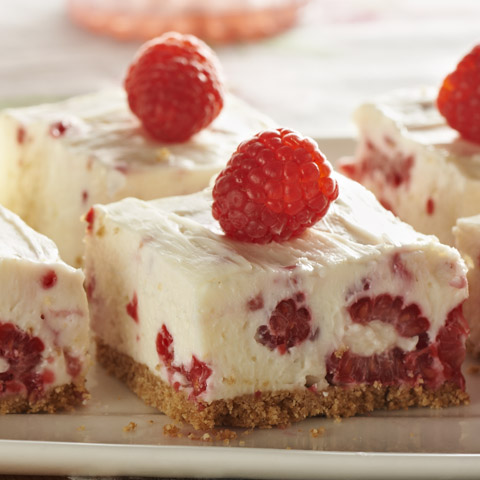 No-Bake Raspberry-Lemon Bars Recipe