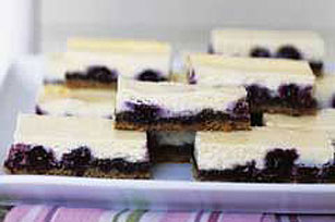 Blueberry Cheesecake Bars Recipe