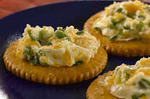 RITZ Hot Cheese Snacks Recipe