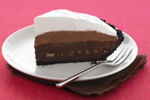 Tarte au chocolat à trois étages recette