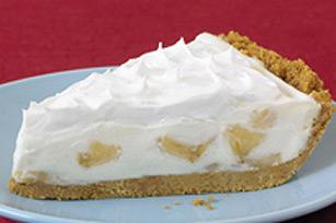 Simple tarte à la crème et aux bananes recette