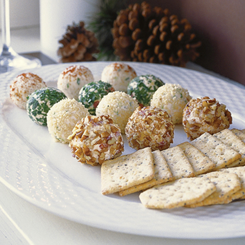 CHRISTIE SOCIALBLES Holiday Cheese Truffles Recipe