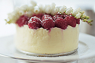 White Chocolate TOBLERONE & Raspberry Cheesecake Recipe