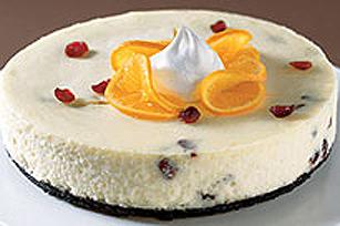 White Chocolate Cranberry Cheesecake Recipe