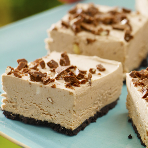 Frozen TOBLERONE Mousse Squares Recipe