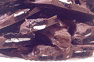 Écorce croquante aux biscuits recette