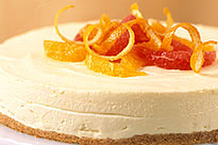 Gâteau au fromage aux agrumes sans cuisson recette