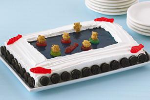 Gâteau « piscine »  recette