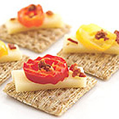 Hot Gouda Triscuit Toppers Recipe