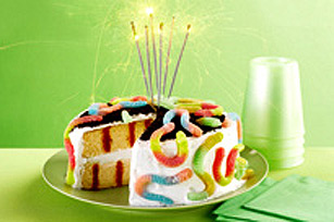 Survivor Birthday Party Poke Cake Recipe