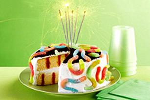Gâteau d'anniversaire à trous « Survivor » recette
