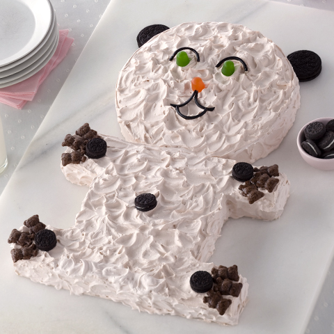 Gâteau ourson pour fêtes d'enfants OREO Recipe
