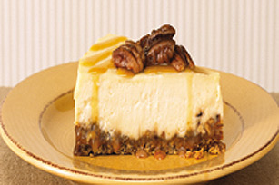 Gâteau au fromage praliné au caramel recette