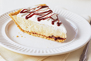 Chocolate-Peanut Butter Cream Pie Recipe