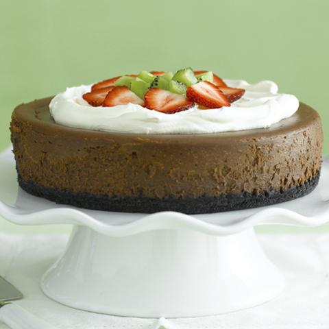 Gâteau au fromage à la croûte au chocolat OREO Recipe