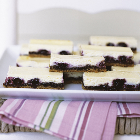 HONEY MAID Blueberry Cheesecake Bars Recipe