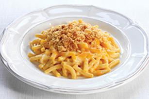Macaroni et fromage au four dans un seul plat recette