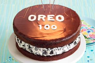 Gâteau Célébration OREO enrobé de chocolat recette
