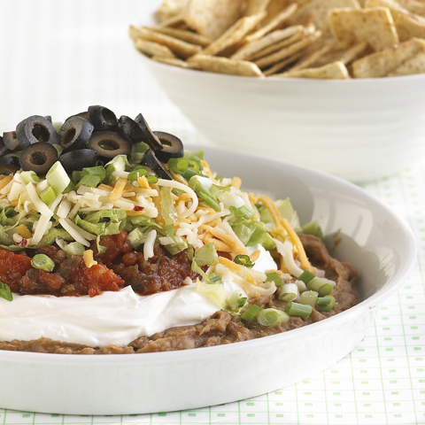 WHEAT THINS Ultimate 7-Layer Dip Recipe