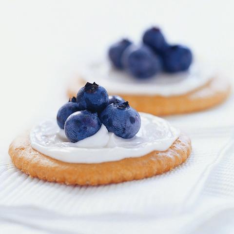Bouchées RITZ aux bleuets recette