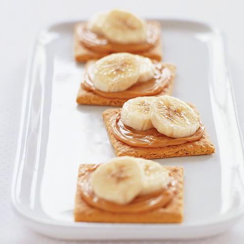 Goûters P'TITE ABEILLE à la banane et au beurre d'arachide   recette