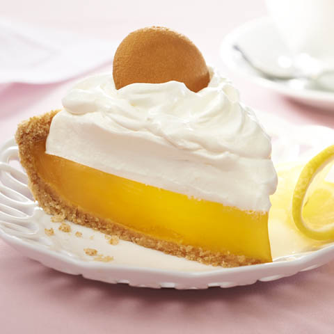"Easy Lemon ""Meringue"" Pie Recipe"