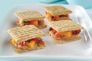 « Quesadillas » épicées aux haricots recette