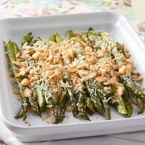 Easy Creamy Baked Asparagus Recipe