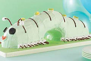 Swirled Caterpillar Cake Recipe