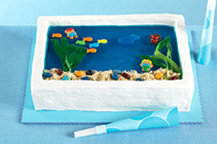 Gâteau « aquarium » recette