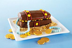 Gâteau coffre aux trésors recette