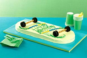 Gâteau planche à roulettes recette