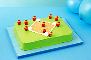 Gâteau « terrain de baseball » recette