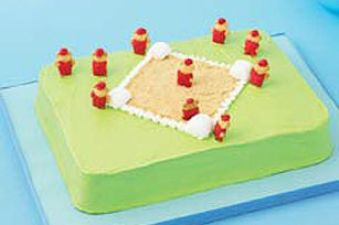 Baseball Diamond Cake Recipe